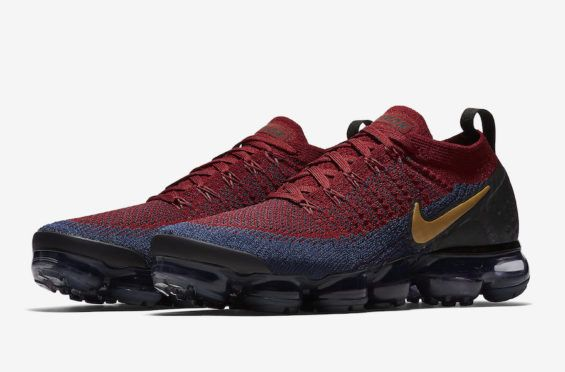 online retailer 0ca3f b87df Release Date  Nike Air VaporMax 2 Team Red Obsidian The Olympic vibes are  strong with