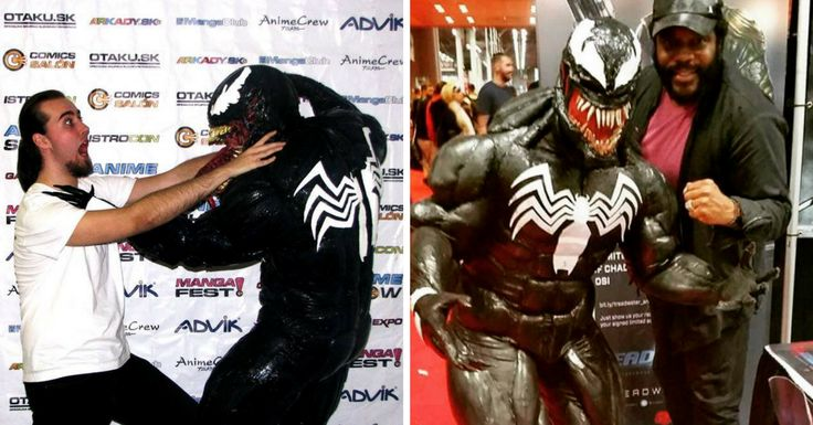 Do you have their balls? #venom #costume #comicon #marvel #cosplay