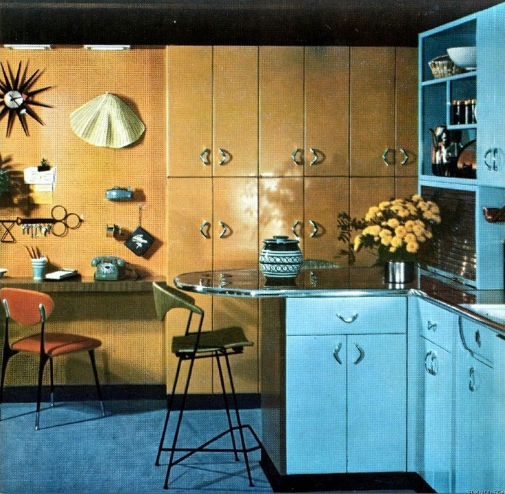 Mcm Kitchen Remodel: 1000+ Ideas About 70s Kitchen On Pinterest