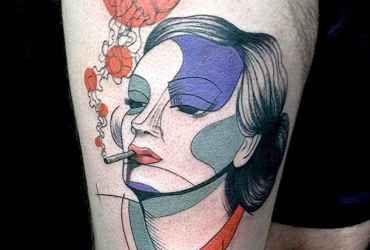 Portraits – Les tatouages de Pietro Sedda | Ufunk.net