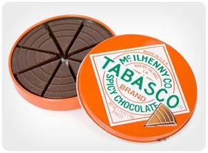 tabasco spicy chocolate....add a little spice to your life...$7