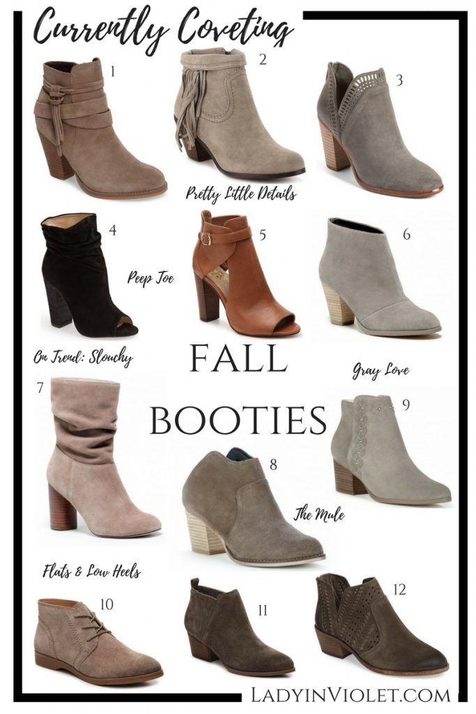 Best Fall Booties 2017   Ankle Boots    Peep Toe Booties    Fall Boots   Lady in Violet   Houston Fashion Blogger