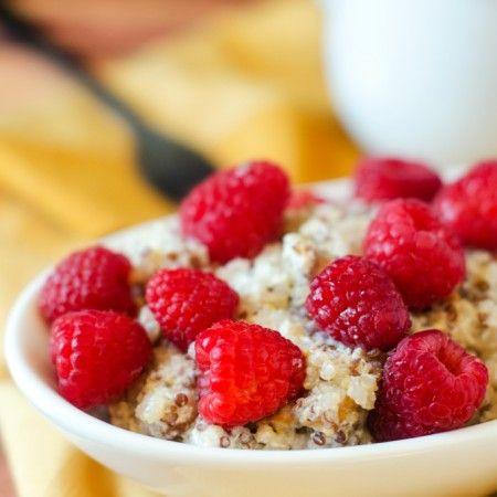 Peanut Butter Quinoa Breakfast. Yum!