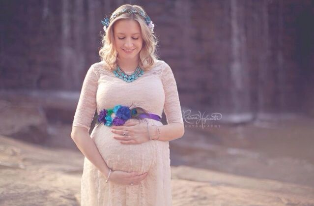 Maternity belly sash