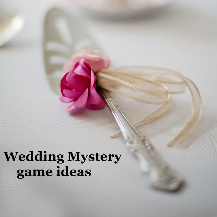 Ideas for throwing a beautifully mysterious Wedding Game party