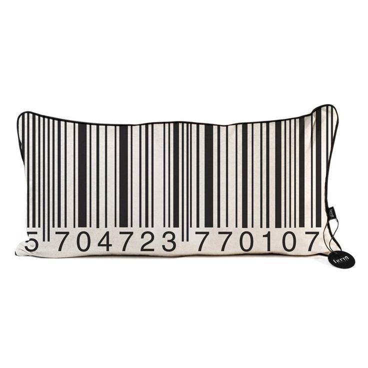 Barcode Pillow.
