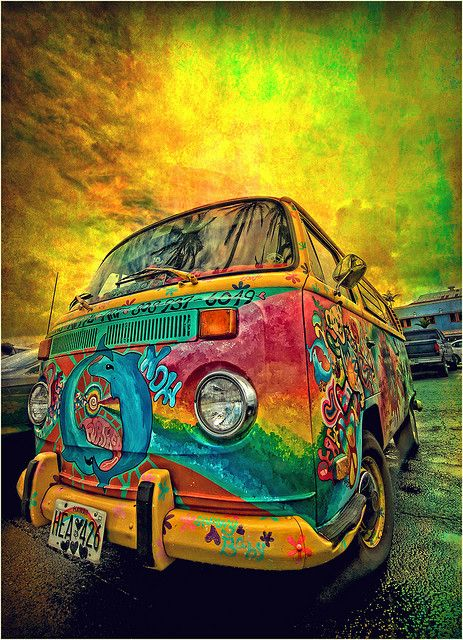 ☆ Funky Hippy ride with the Magic Bus ☆