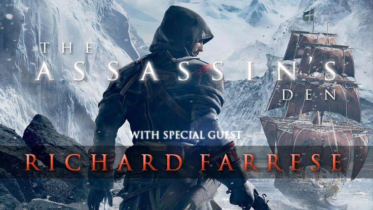 The Assassin's Den - ft. Richard Farrese (Lead Writer on Assassin's Cree...