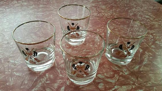 Check out this item in my Etsy shop https://www.etsy.com/listing/540386509/set-of-4-vintage-1960s-short-tumbler-set
