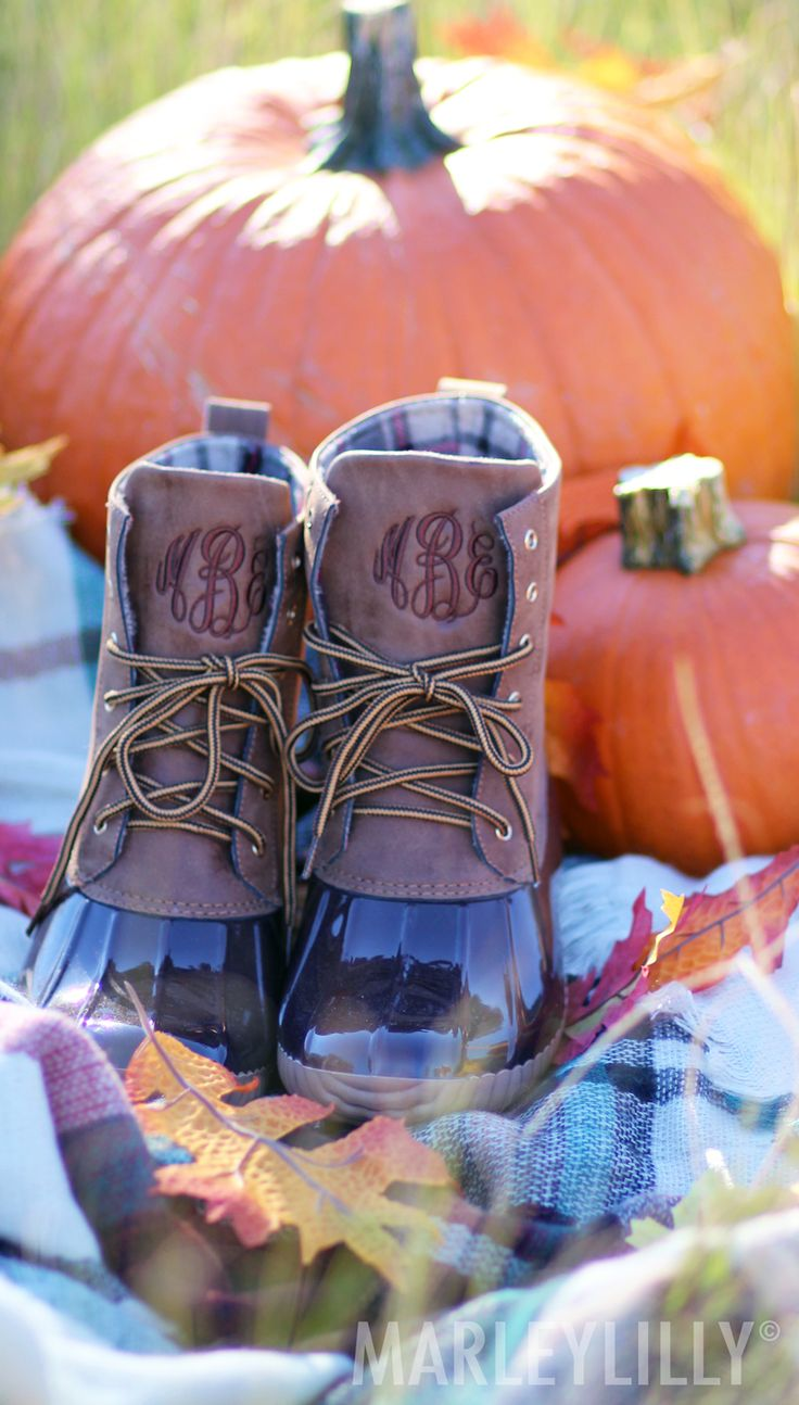 Look what flew in! Monogrammed Duck Boots are BACK at Marleylilly!