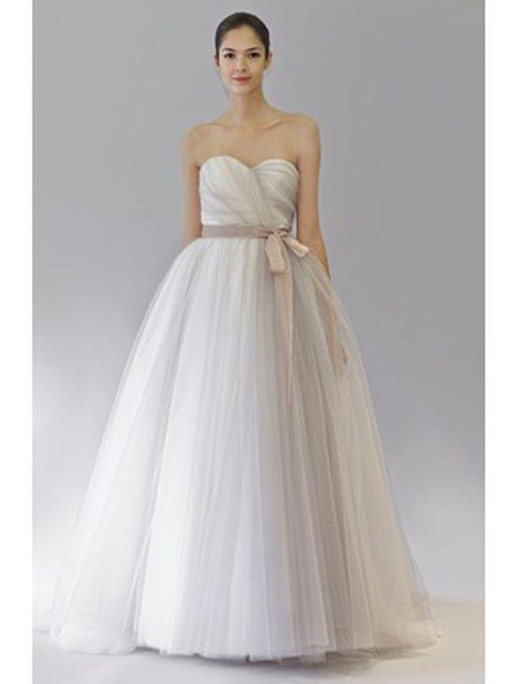 Cute Carolina Herrera Discount Designer Wedding Dresses