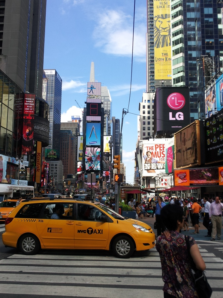 Times Square My Favorite Place on Earth - August 2012