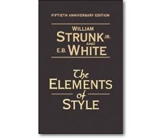 """Write with nouns and verbs, not with adjectives and adverbs. The adjective hasn't been built that can pull a weak or inaccurate noun out of a tight place.""    – William Strunk and E.B. White, The Elements of Style, 1959"