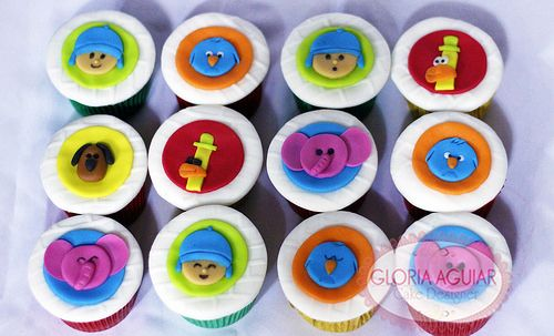 Cupcakes Pocoyo Discovery Kids