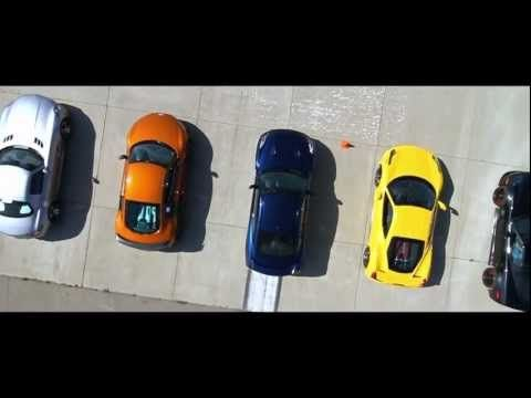 【動画】GT-Rとスーパーカー10台による豪華なドラッグレース!結果は・・・。