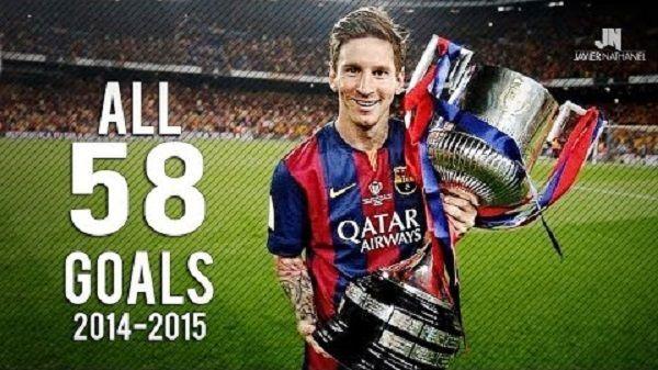 Wszystkie gole Argentyńczyka w minionym sezonie • Lionel Messi i jego niesamowite bramki w sezonie 2014/15 • Wejdź i zobacz film >> #lionelmessi #messi #barca #fcbarcelona #barcelona #football #soccer #sports #pilkanozna