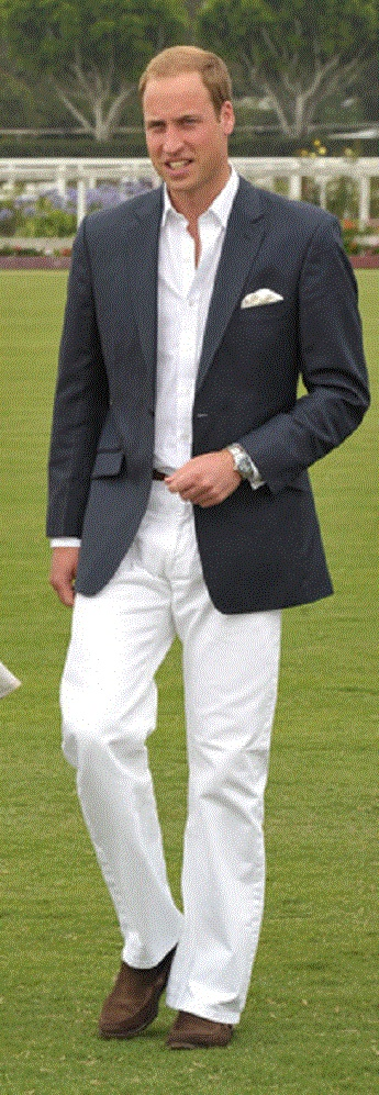 Prince William, Duke of Cambridge arrive at The Foundation Polo Challenge
