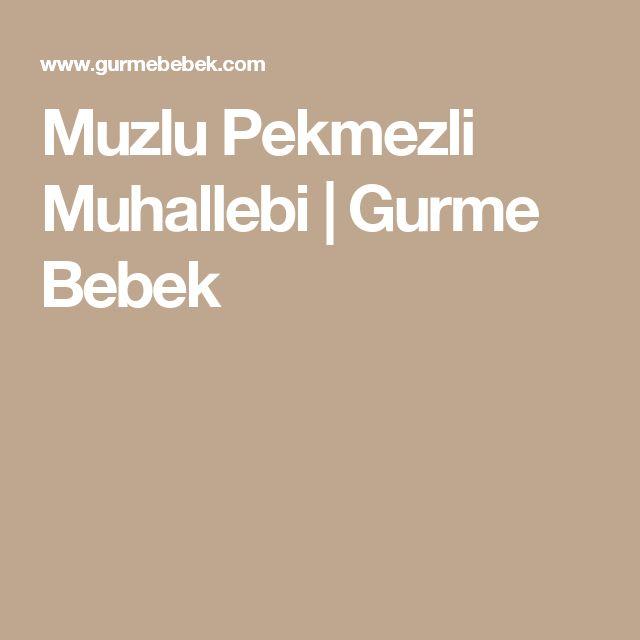 Muzlu Pekmezli Muhallebi | Gurme Bebek