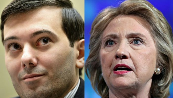 Prosecutors Want Martin Shkreli Jailed Over Anti-Hillary Facebook Posts
