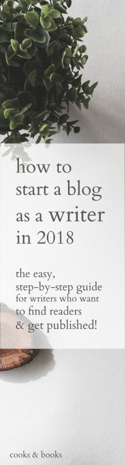 Finally start the writing blog that will win you readers and sell more books! This is the easiest, step-by-step guide for starting a blog as a writer in 2018.