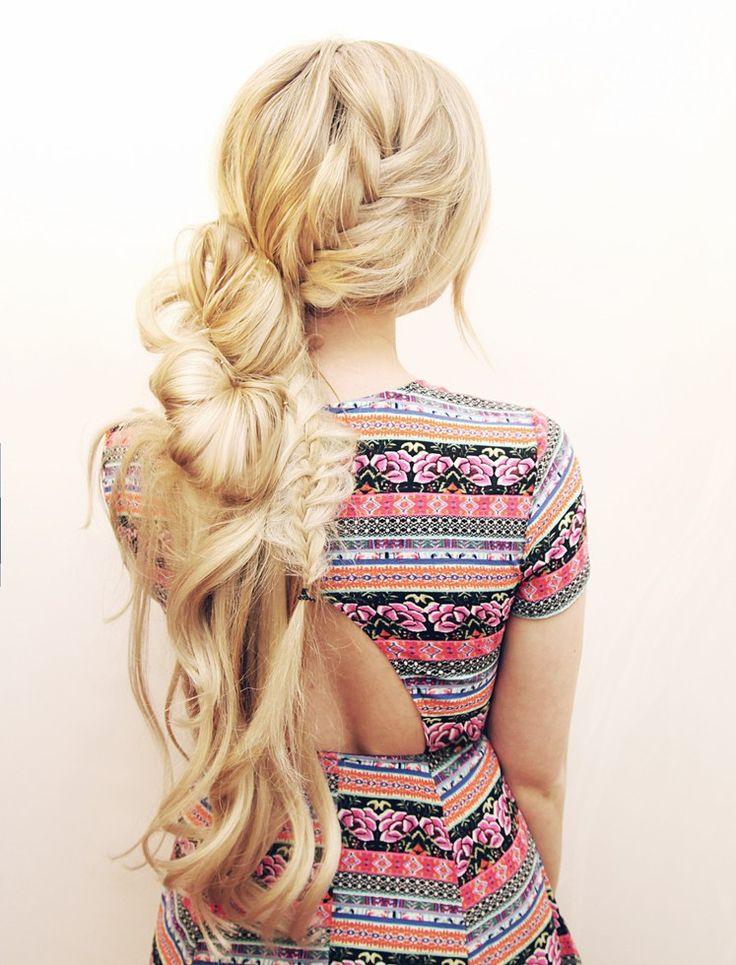 kassinka-désordre-queue de cheval-cheveux tutoriel