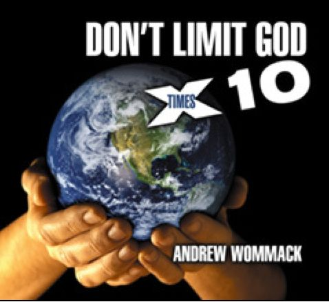 Don't Limit God x 10 - Five-CD Album Album Ten years ago, God spoke to Andrew about taking the limits off. What limits were those? The ones he placed on God through small thinking. Since that encounter, Andrew's ministry has been growing supernaturally and exponentially. And if God will do that for him, He will do it for you. http://www.awmi.net/store/usa/cd_albums/1076_c