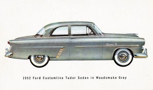 1952 ford customline tudor sedan ford 1952 pinterest for 1952 ford customline 2 door