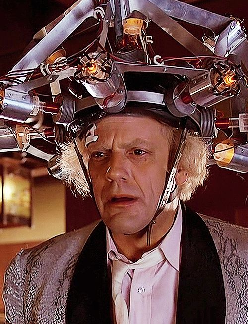 """Don't tell me! Uh, you want me to buy a subscription to the Saturday Evening Post?"" - Doc Brown, Back to the Future"