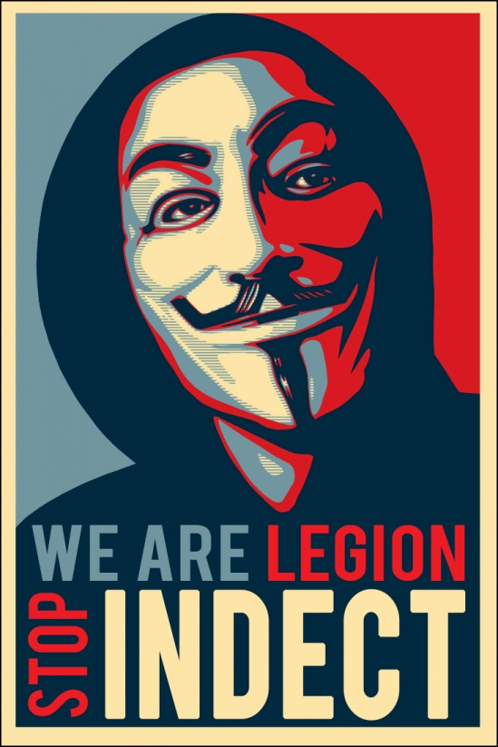 anonymous stop indect