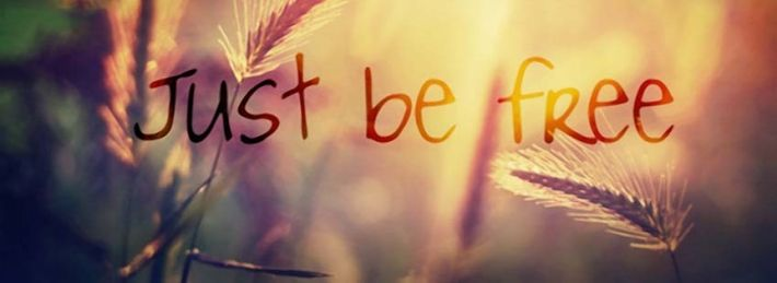 Just Be Free - Facebook Cover