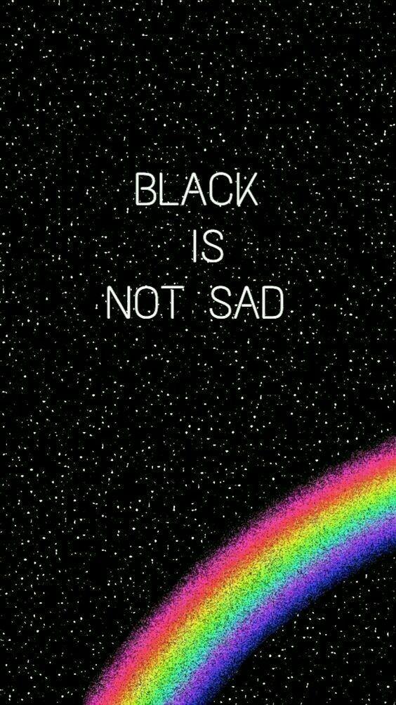 Black is not sad. #color #aesthetic #black #blackislife #iloveblack