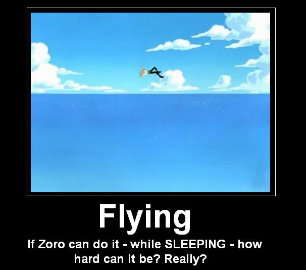 Am I the only person who remeberd that luffy hit him with another person causing him to go flying lol