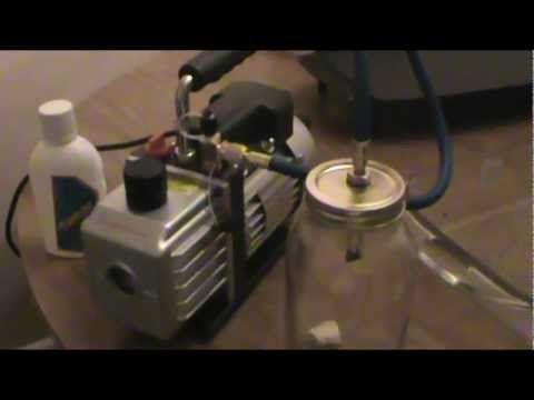 How to: Make a Vacuum Chamber BHO/Butane Honey Oil - YouTube