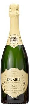 Korbel Brut Organic Champagne, $49.00 #champagne #oscars #gifts #1877spirits