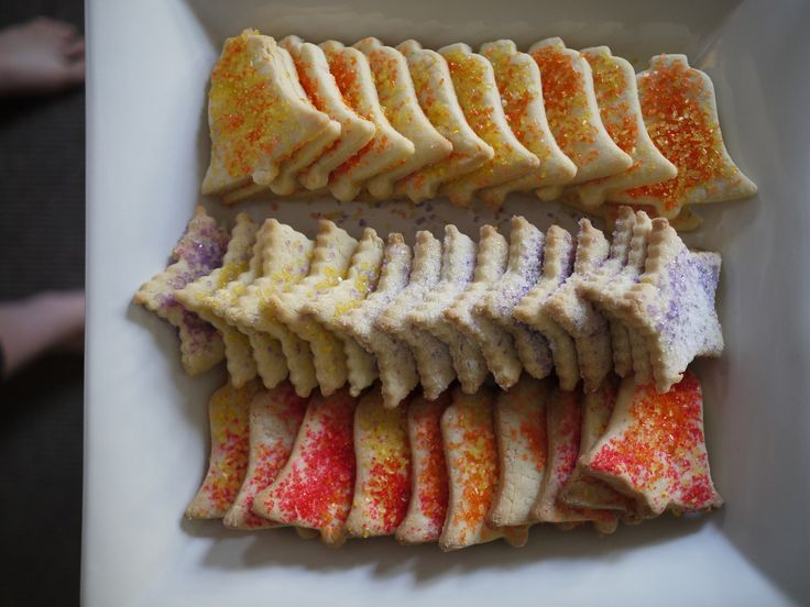 I remember making these when I was younger. Simple cookies.