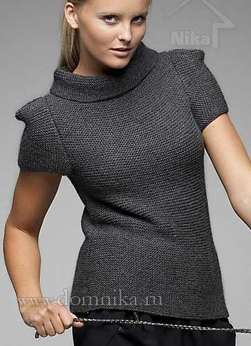 http://www.domnika.ru/page/stilnyj-pulover-spicami-s-korotkim-rukavom