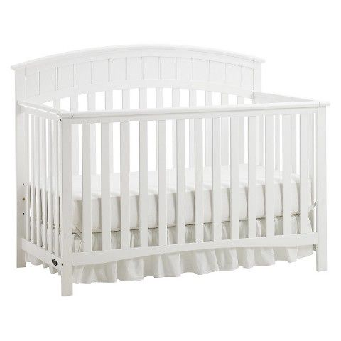 Graco Charleston 4-in-1 Convertible Crib - White - $190 - Target Online Only
