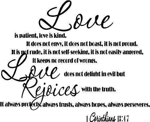 Love Does Not Envy 1 Corinthians 13 4