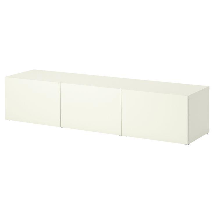 BESTÅ Opberger met deuren - IKEA - hoogglans wit