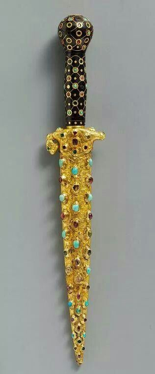 - Daga ceremonial . Siglo XVl . Imperio Otomano , Turquia