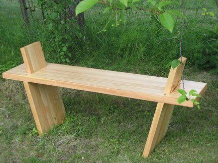 Japanese sitting bench