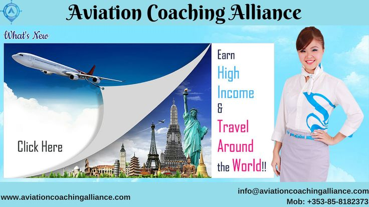 Aviation Coaching Alliance is renowned Flight School Training Institute in the entire Ireland. We have a well-experienced and qualified trainer, who has a number of years experience in his field. Our specialist is to become the professional pilot, an air traffic controller or a busy aviation/airline executive. To get our classes, call us at +353-85-8182373.