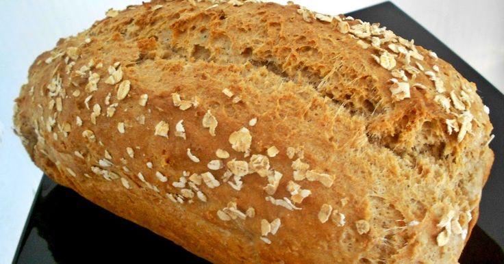 NIKK NEW LIFE - ÚJ ÉLET SZABADON, BOLDOGAN, JÓÍZŰEN: Zabpelyhes dagasztás nélküli kenyér - teljes kiőrlésű