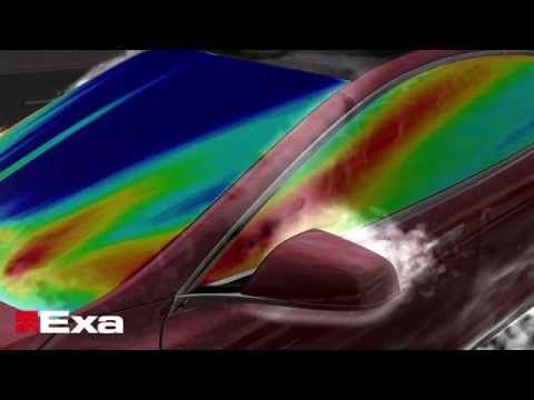 PowerFLOW: CFD Software Solution for Aerodynamic Design   Exa Corporation