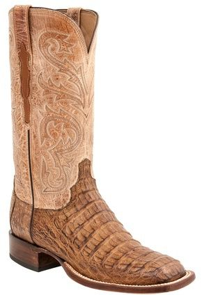 georgetowncowboyboots -  H2022-Cal Lucchese Since 1883 Heritage Hornback Caiman Boots Tan, $875.00 (http://www.georgetowncowboyboots.com/h2022-cal-lucchese-since-1883-heritage-hornback-caiman-boots-tan/)