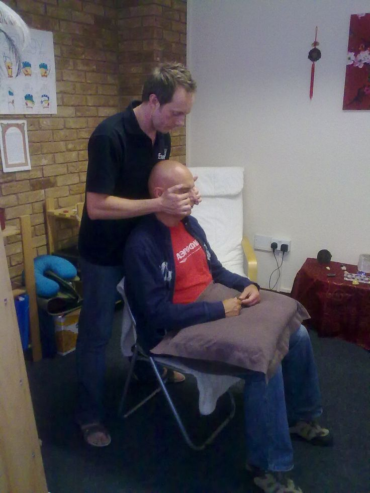 Indian Head Massage (facial pressure points...clearing the lymph)