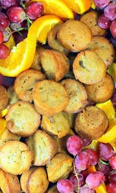 Inspired By eRecipeCards: Mini BANANA MUFFINS - Sour Cream Moist and Extra WAL-Nutty - 52 Church PotLuck Breakfast Recipes