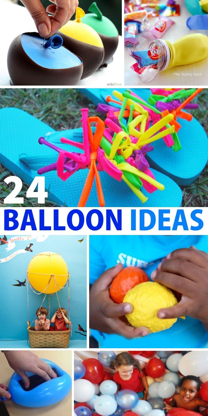 24 fun balloon ideas that you can do with the kids