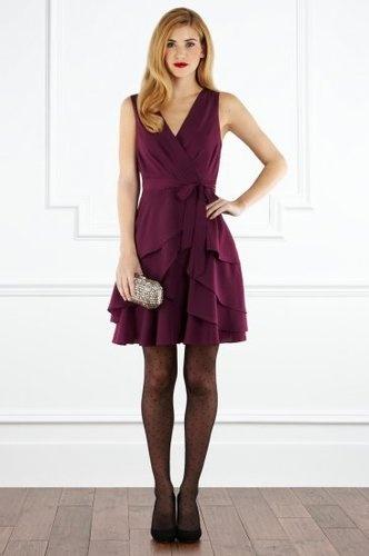 Party Coast Nadina dress in Purple   eBay