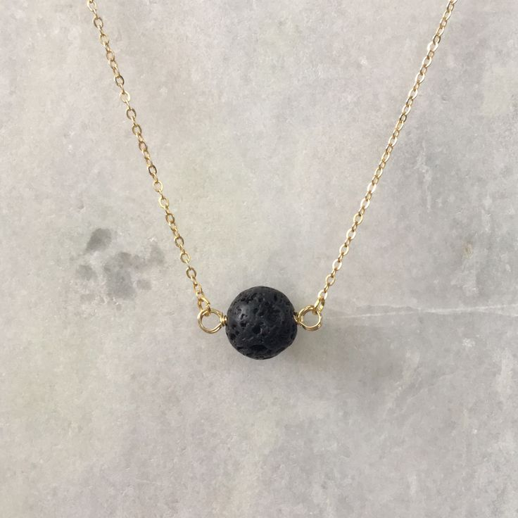 Lava Rock Oil Diffuser Necklace